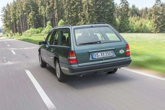 Mercedes 230 TE ist unzuverlässigster Oldie