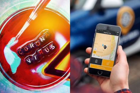 Coronavirus: Carsharing, Autovermietung, Taxi