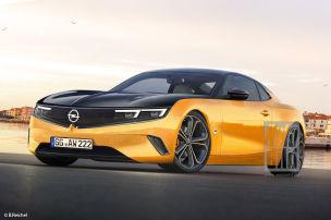 Neuer Opel Manta / e-Manta