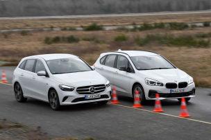 Mercedes und BMW im Plug-in-Duell