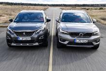 Kompakte Plug-in-Hybrid-SUVs im Test