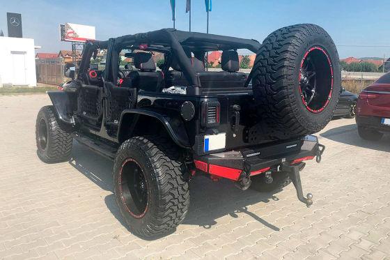 Jeep Wrangler-Batmobil zu verkaufen