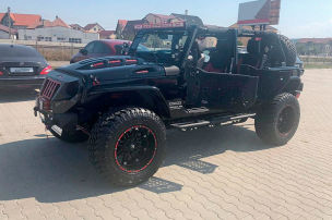 Abgedrehter Jeep Wrangler zu verkaufen