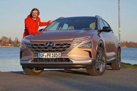 Hyundai Nexo: So schlägt sich das Wasserstoff-SUV im Alltag - autobild.de