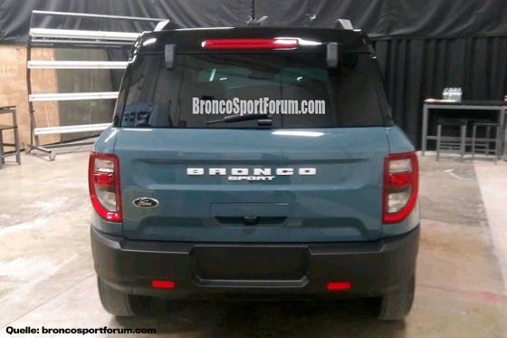 Baby-Bronco kommt nur mit allrad!