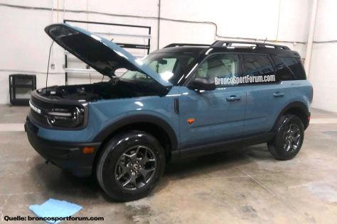 Ford Bronco Sport (2020): Leak, Motoren, Allrad, Excape