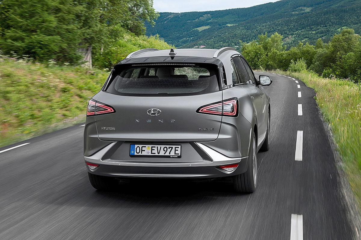Hyundai Nexo Alltagstest (2020): Bilder