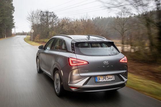 Hyundai Nexo im Langstrecken-Test (2020): Keine Angst um die Reichweite