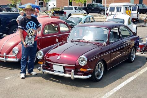 VW 1600 TL Typ 3 nach 38 Jahren restauriert