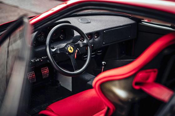 Porsche 959 S gegen Ferrari F40