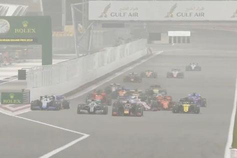Formel 1: erstes virtuelles Rennen