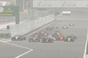 Formel 1: Peinliches virtuelles Rennen