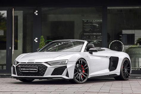 Audi R8 V10 Tuning: Wheelsandmore