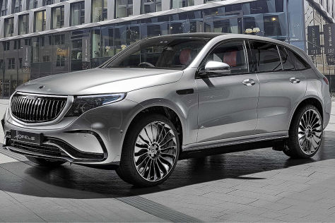 Mercedes EQC Tuning: Hofele Design