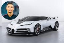 Cristiano Ronaldo: Bugatti Centodieci