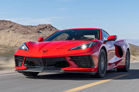 Corvette mit Verarbeitungs-Problem: Stingray, C8