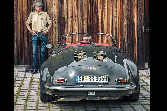 Porsche 356 mit 911-Turbo-Motor