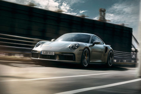 Porsche 911 Turbo S (2020): Lightweight Package
