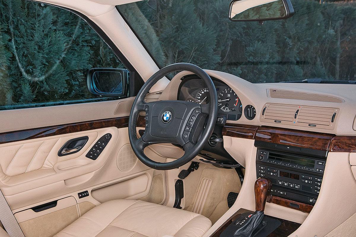BMW 740i E38 Zeitkapsel
