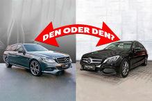 Vergleich gebrauchte Mercedes-Kombis: