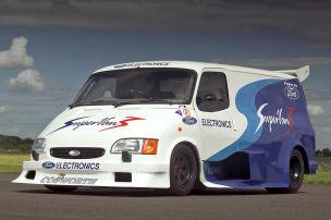Ja, Ford baute einen Transit mit F1-V8!