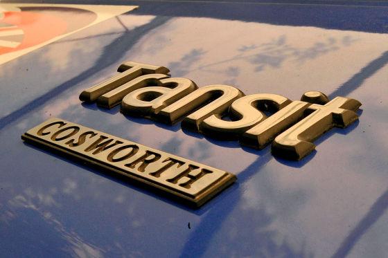 Fords Supervan mit Formel-1-V8!