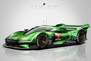 Jaguar, Ferrari und Co. im Le-Mans-Design