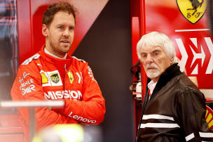 Bernies Rat an Vettel: Aufh�ren oder McLaren
