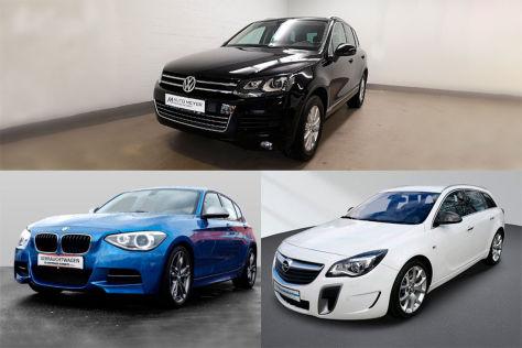 Gebrauchtwagen-Power: dreimal 300 PS für jeweils gut 20.000 Euro - autobild.de
