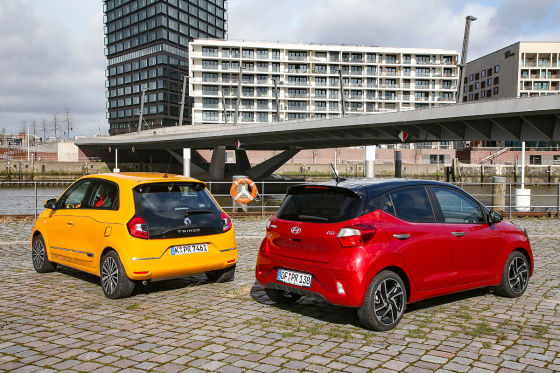 Hyundai i10 Renault Twingo