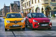 Hyundai i10, Renault Twingo: Test
