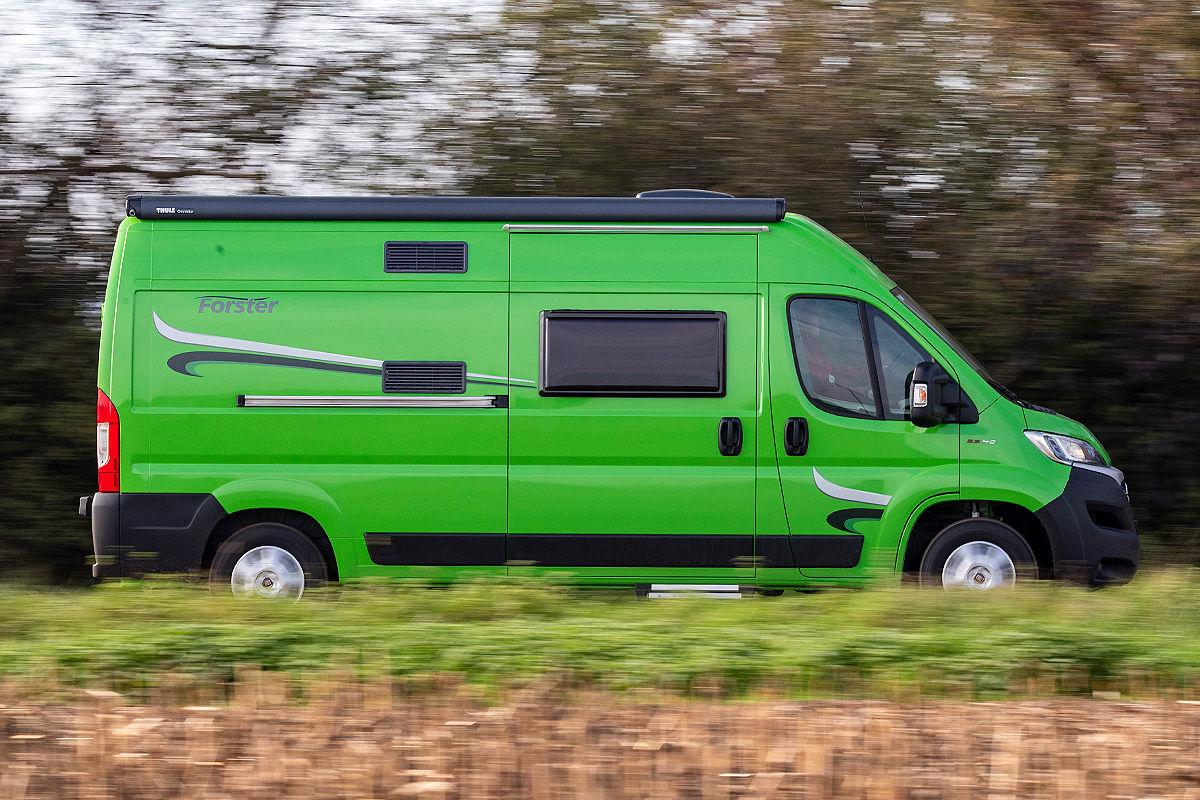 Wohnmobil-Test Forster Van 599 VB