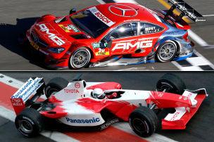 Die erfolgreichsten F1-Fahrer in der DTM
