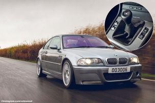 BMW M3 CSL: Handschalter