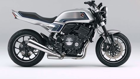 Honda CB-F Concept: Kurzvorstellung