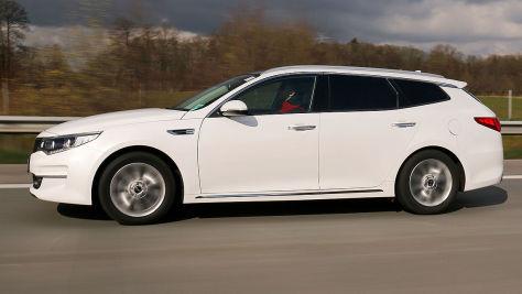 Kia Optima SW: Gebrauchtwagen-Test