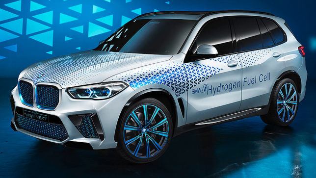 BMW X5 mit Brennstoffzelle