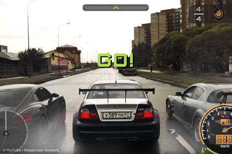 Need for Speed: Youtuber bringt das Spiel auf die echte Straße! - autobild.de