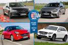 Opel Insignia  Hyundai i30  Opel Adam   Mercedes GLC   - TÜV-Report Sieger 2021