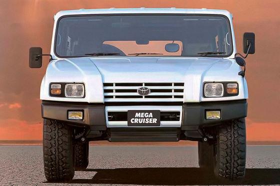 Dieser Toyota wäre gern ein Hummer H1