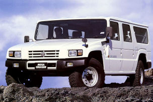 Dieser Toyota w�re gern ein Hummer H1