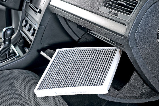 VW Golf 7 Innenraumfilter