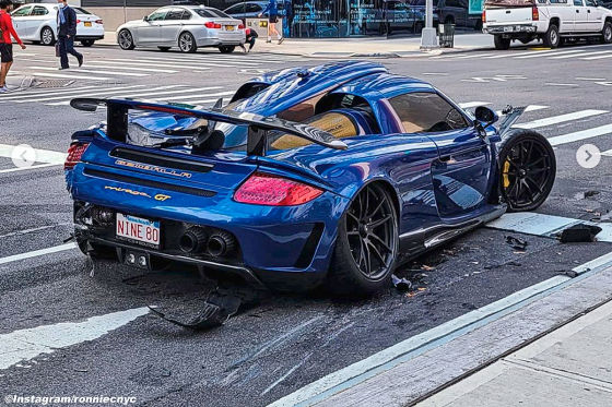 Idiot crasht 800.000 Euro teuren Mirage GT