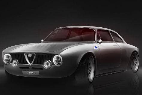 Alfa Romeo Giulia GT Tuning: Totem Giulia GTelectric