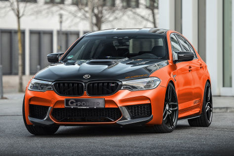BMW M5 Tuning: G-Power Hurrican RS