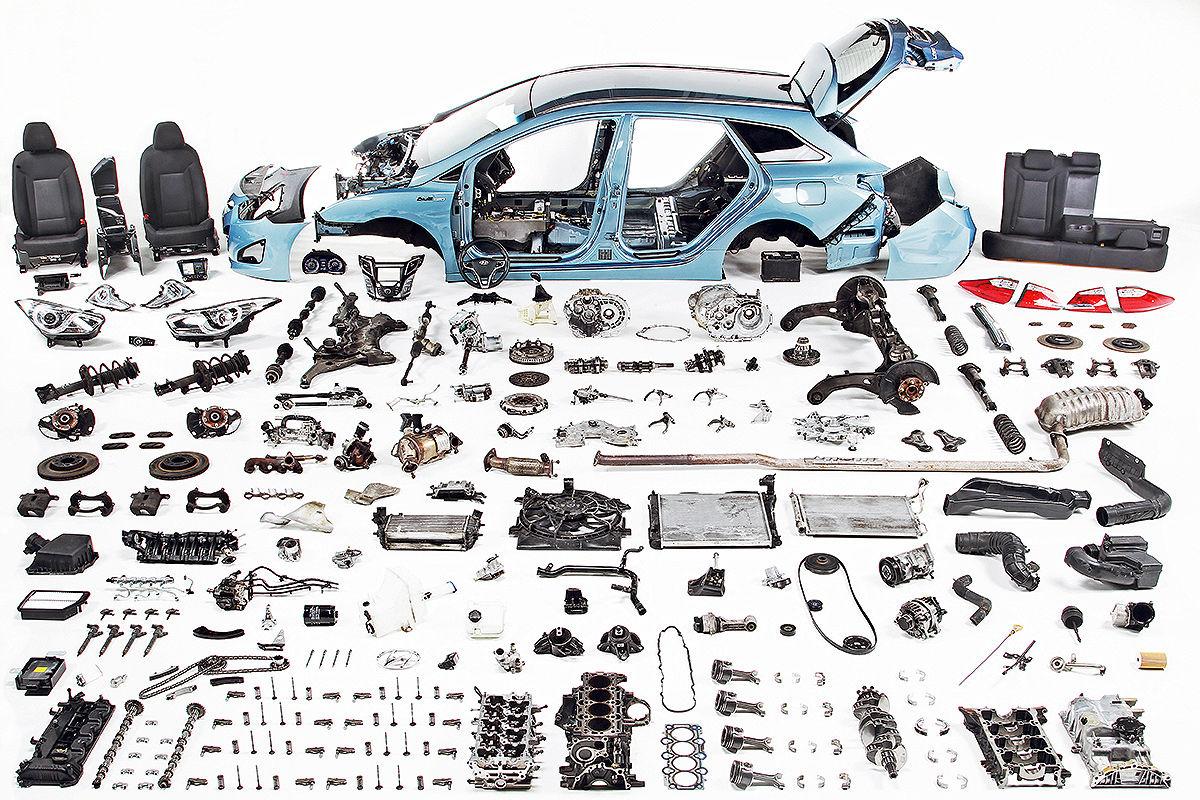 Hyundai i40 Kombi blue 1.7 CRDI Style