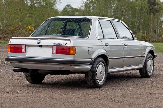 Dieser BMW E30 ist quasi ein Neuwagen