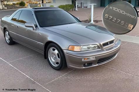 Honda Legend Coupé: Dauerläufer