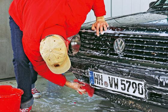 Darf ich mein Auto zuhause waschen?