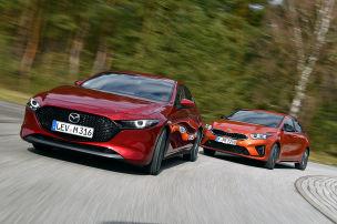 Mazda gewinnt, Kia siegt!